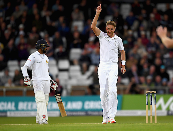 England V Sri Lanka: 1st Investec Test - Day Two Photograph by Gareth Copley