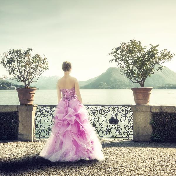 Woman Photograph - enjoying Italy by Joana Kruse