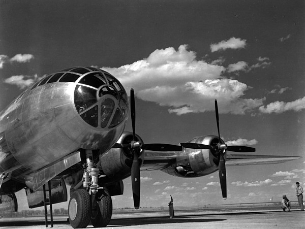 Retro Images Archive Photograph - Enola Gay On Runway by Retro Images Archive