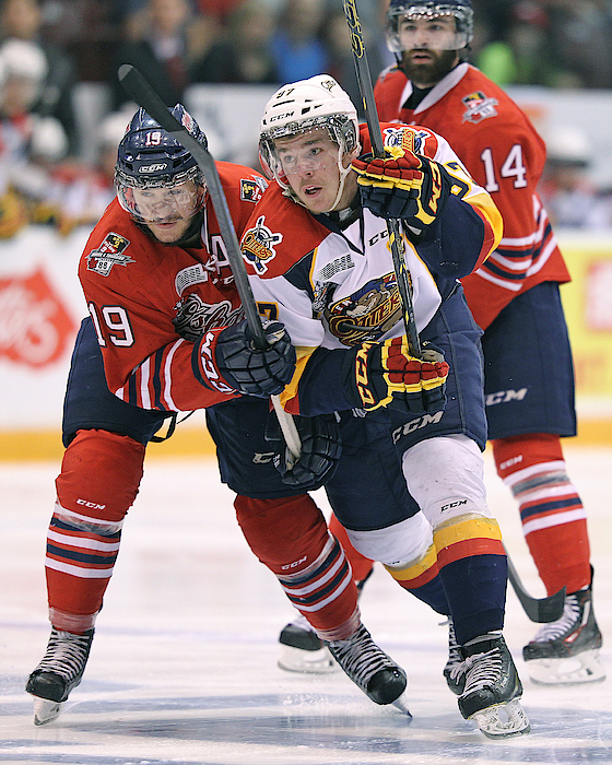 Erie Otters V Oshawa Generals - Game Two Photograph by Claus Andersen