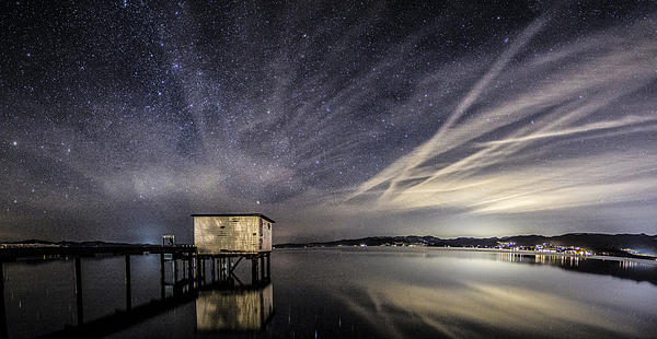 Stars Photograph - Explode by Brad Scott