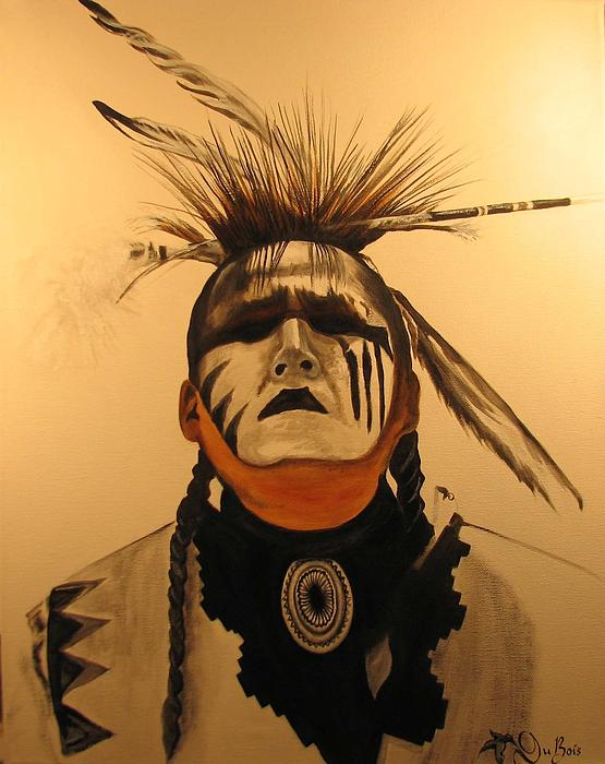 Native Painting - Eye See by Creations by DuBois