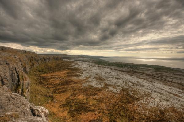 Aran Photograph - Fanore Burren View by John Quinn