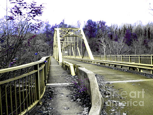 West Virginia Photograph - Fayette Station Bridge by Amy Sorrell