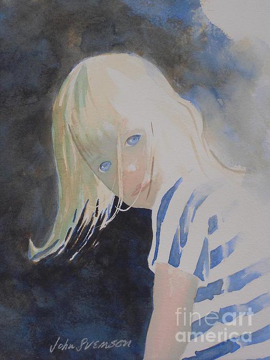 John Svenson Painting - Felicia by John  Svenson