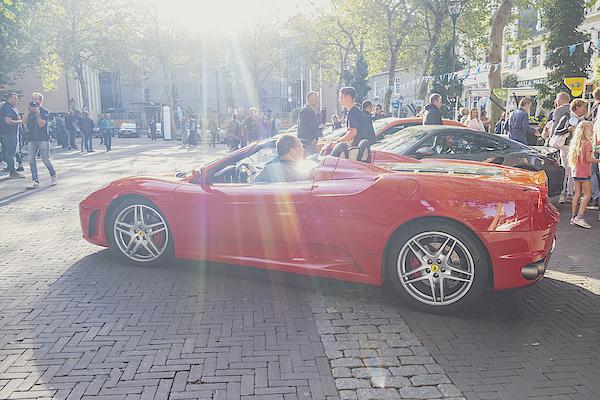 Ferrari F430 Spider Sports Car Photograph by Sjo