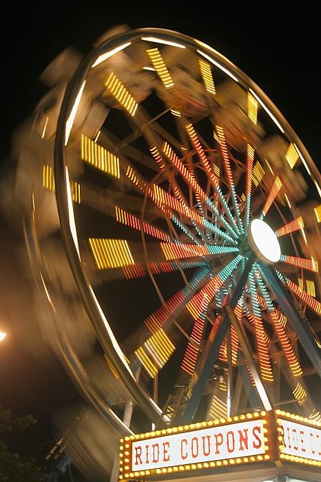 Activity Photograph - Ferris Wheel by Brandon Tabiolo