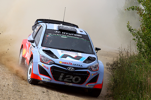 Fia World Rally Championship Poland - Shakedown Photograph by Massimo Bettiol