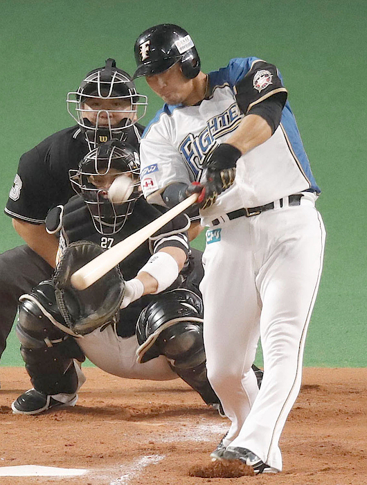 Fighters Come Back From 4 Runs Down For Japan Series Berth Photograph by Kyodo News