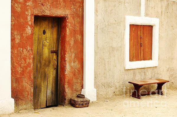 Door Photograph - Film Set by Micah May
