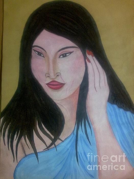 Filpinese Painting by Syeda Ishrat