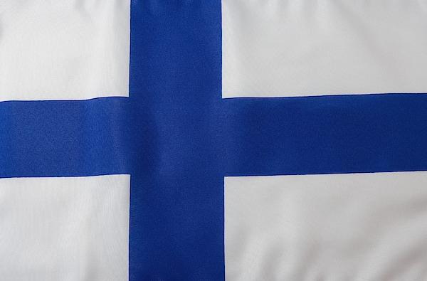 Finnish Flag Photograph by Junior Gonzalez