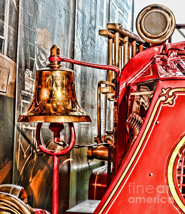 Paul Ward Photograph - Fireman - The Fire Bell by Paul Ward