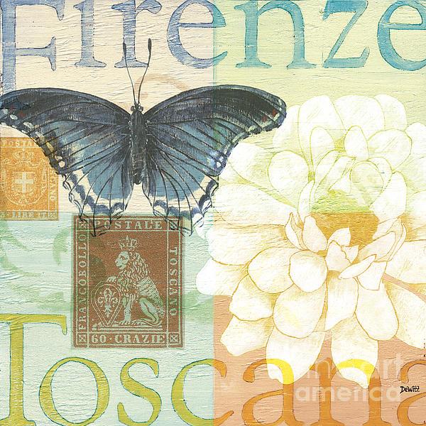 Firenze Painting - Firenze by Debbie DeWitt