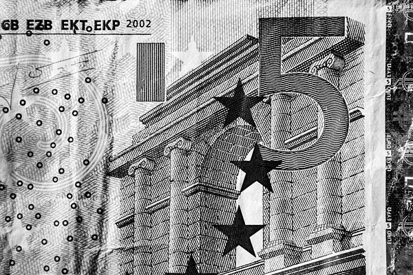 Europe Photograph - Five Euro by Semmick Photo