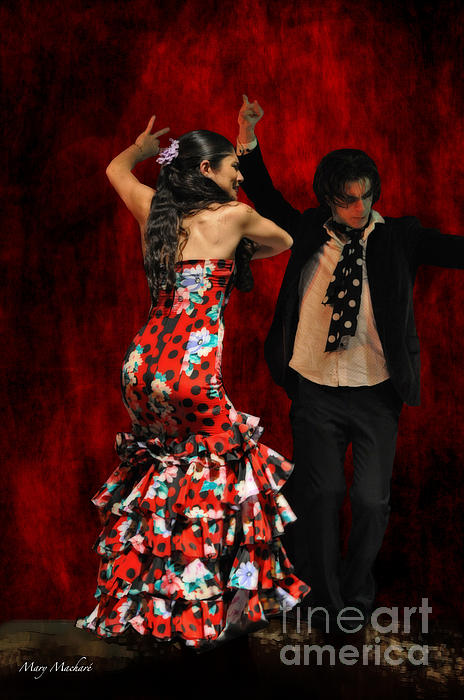 Dancers Photograph - Flamenco Series #9 by Mary Machare