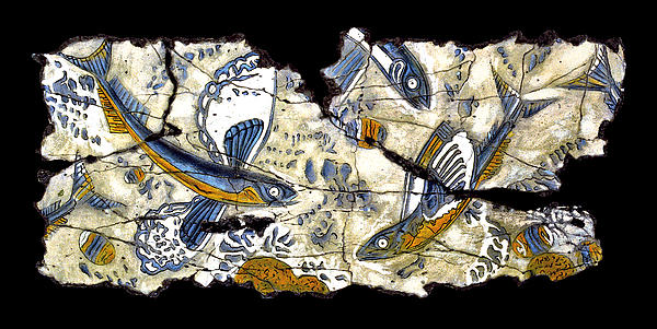 Fish Painting - Flying Fish No. 3 by Steve Bogdanoff