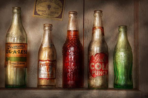 Soda Photograph - Food - Beverage - Favorite Soda by Mike Savad