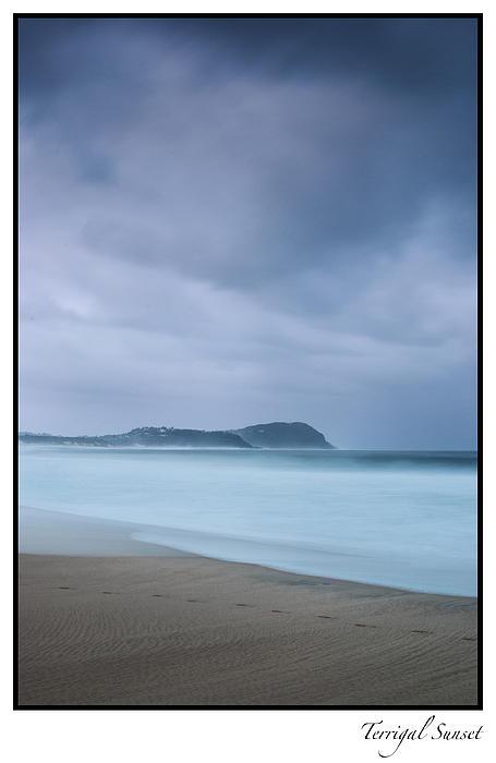 Sea Photograph - Footprints by Steve Caldwell