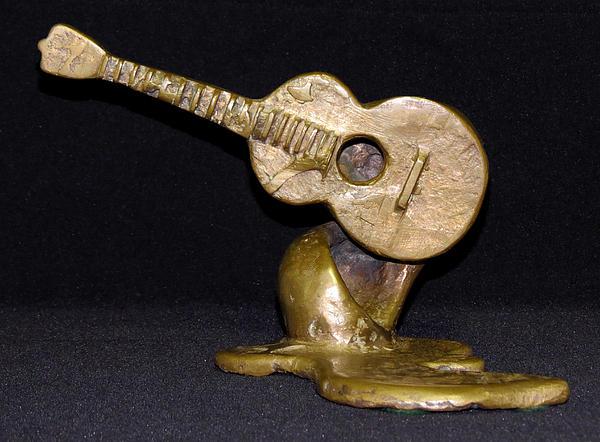 Bronze Sculpture - For George Harrison by Julie Turner