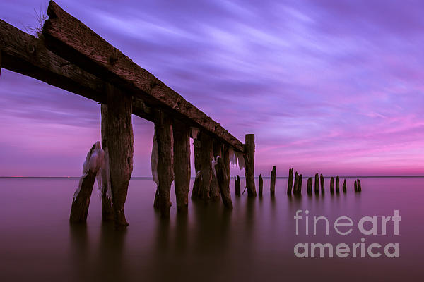 Matt Trimble Photograph - Forgotten Sunrise by Matt  Trimble
