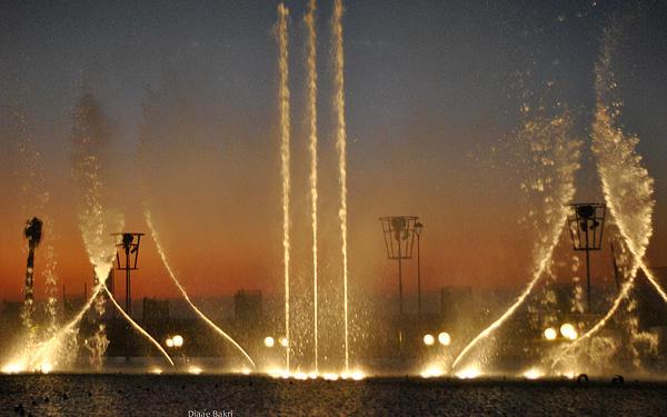 Fountain Photograph - Fountain by Diaae Bakri