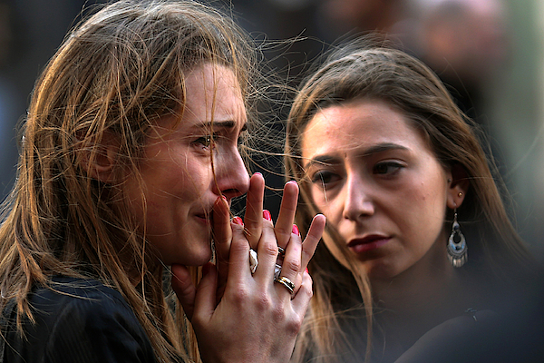 France Honours Attack Victims As The Nation Mourns Photograph by Christopher Furlong