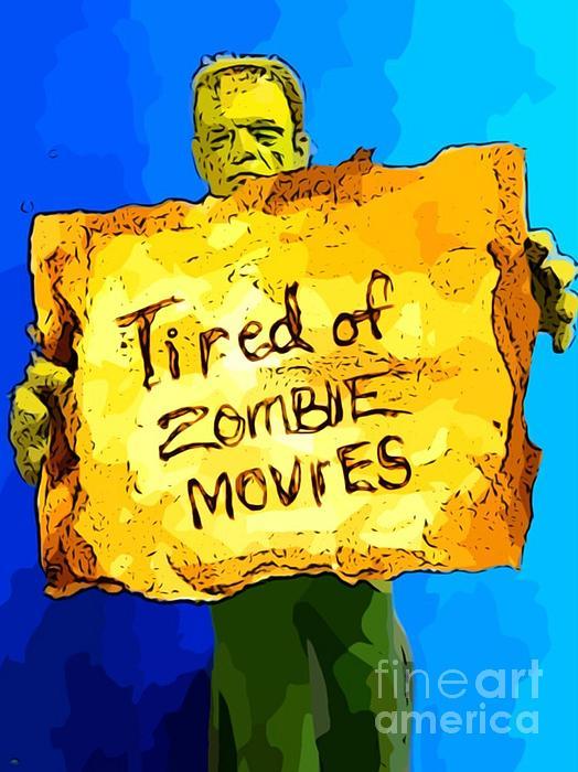 Monsters Painting - Frankensteins Monster Turns Activist by John Malone