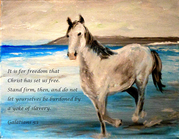 Faith Painting - Freedom by Amanda Dinan