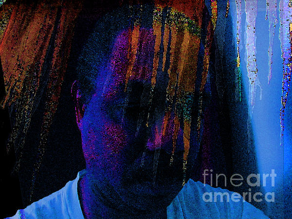 Abstract Art Photograph - Freeze Brain by Cedric Hampton