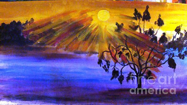 Fresh Morning Painting by Sonali Singh