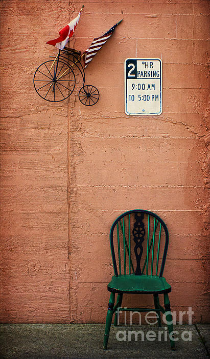 Parking Photograph - From Nine To Five by Elena Nosyreva