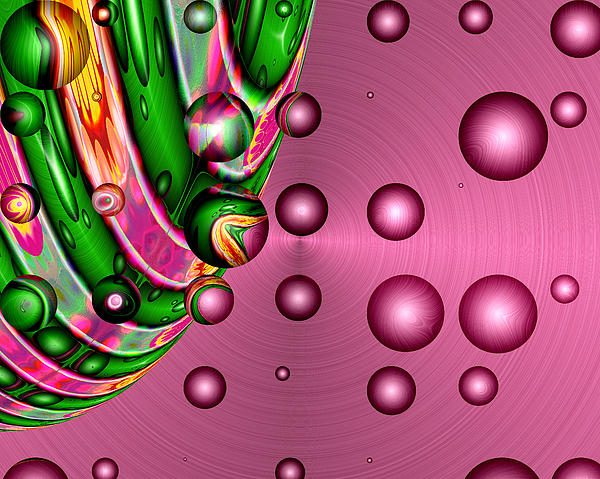 Digital Digital Art - Fruit Punch by Wendy J St Christopher