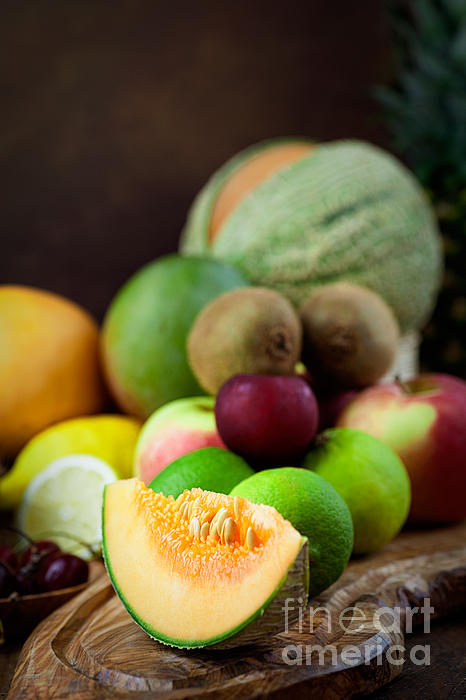Crop Photograph - Fruit Variety by Mythja  Photography