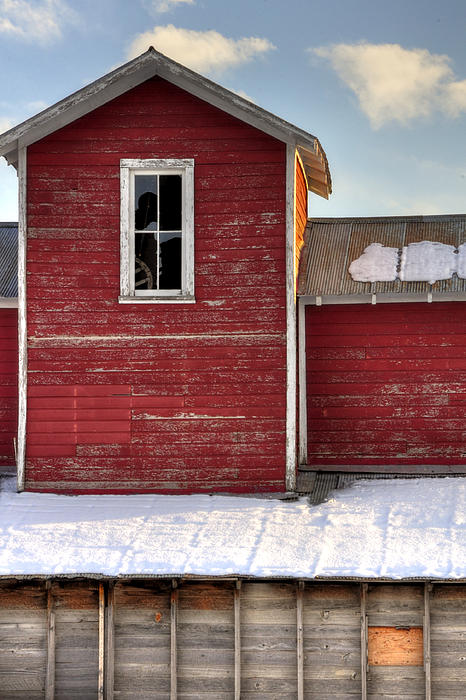 Ft Photograph - Ft Collins Barn 13496 by Jerry Sodorff