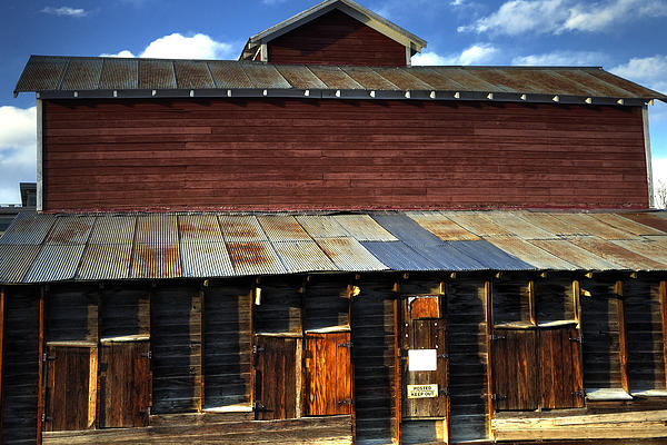 Ft Photograph - Ft Collins Barn 13553 by Jerry Sodorff