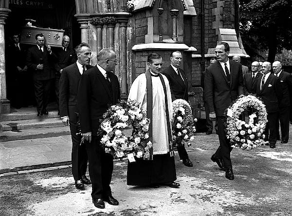 Funeral Of Freddie Mills Photograph by PA Images