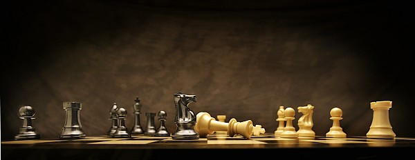 Checkmate Photograph - Game Over by Don Hammond