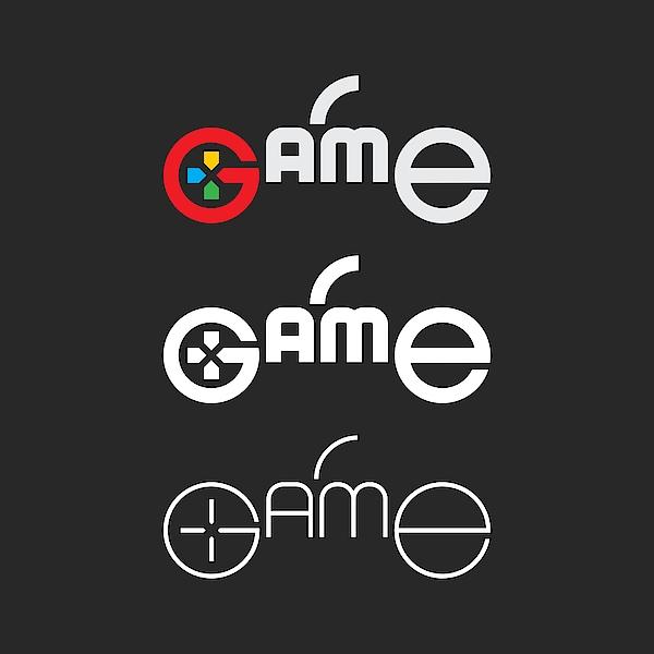 Game - Typography Series Drawing by Rakdee