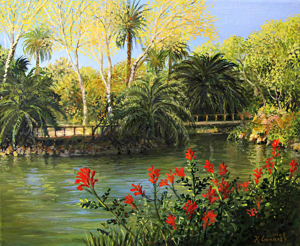 Garden Of Eden Painting By Kiril Stanchev