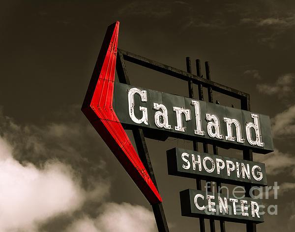 Shopping Center Photograph - Garland Texas Shopping by Sonja Quintero