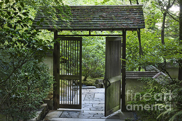 Gates Photograph - Gates Of Tranquility by Sandra Bronstein