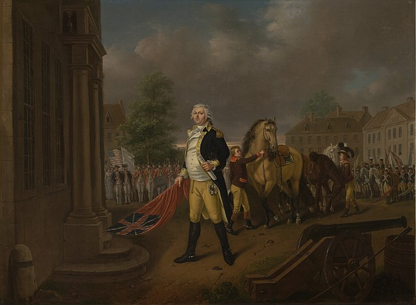 General Painting - General Humphreys Delivering by Nicolas Louis Albert Delerive