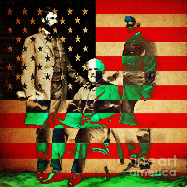 Civil War Photograph - General Robert E Lee by Wingsdomain Art and Photography