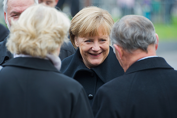 Germany Celebrates 25th Anniversary Of The Fall Of The Berlin Wall Photograph by Target Presse Agentur Gmbh