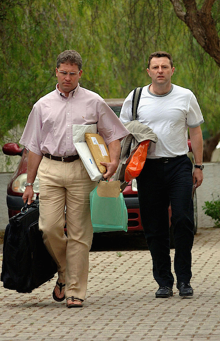 Gerry Mccann Returns To Portugal Photograph by Pool