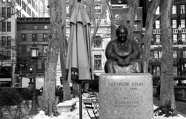 Gertrude Stein Photograph - Gertrude Stein by Joanna Madloch