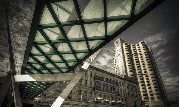 Glass Bridge Photograph - Glass Bridge by Wayne Sherriff