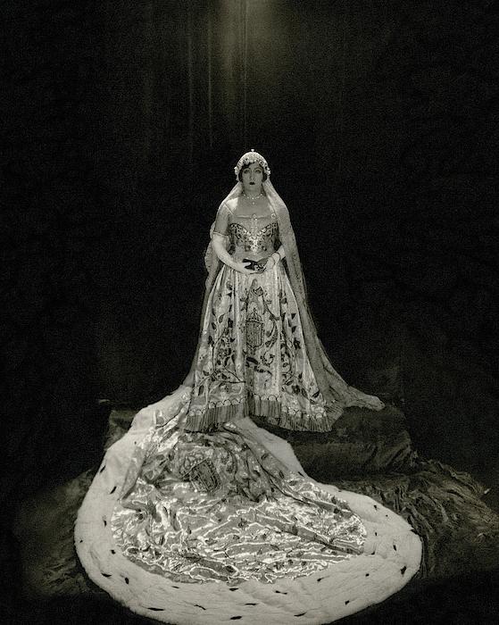 Gloria Swanson Wearing A Costume Photograph by Edward Steichen