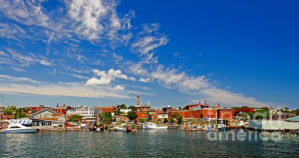 Art Photograph - Gloucester Massachusetts by Charles Dobbs